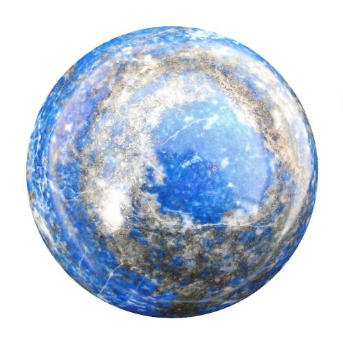 Lapis Lazuli  Scrying Crystal Ball for Divination and Future Gazing 57mm 300g (LB13)